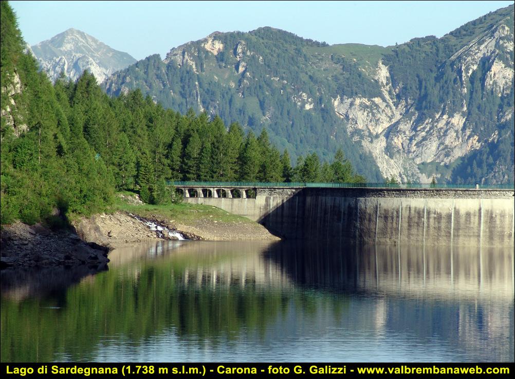 Lago di sardegnana carona valle brembana alpi orobie for Realizzazione laghetti artificiali quanto costa