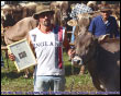 Mostra zootecnica di Branzi - La Reginetta Pranola di Cattaneo Alfio