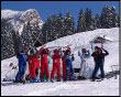 Baby sciatori a scuola dal Maestro Bonetti