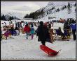 Pienone di sciatori a San Simone