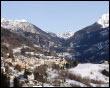 Panoramica su Valnegra, invernale
